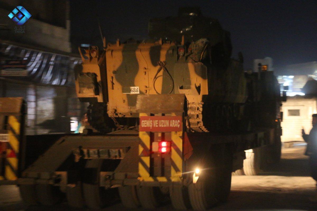 Турецкий конвой в Идлибе