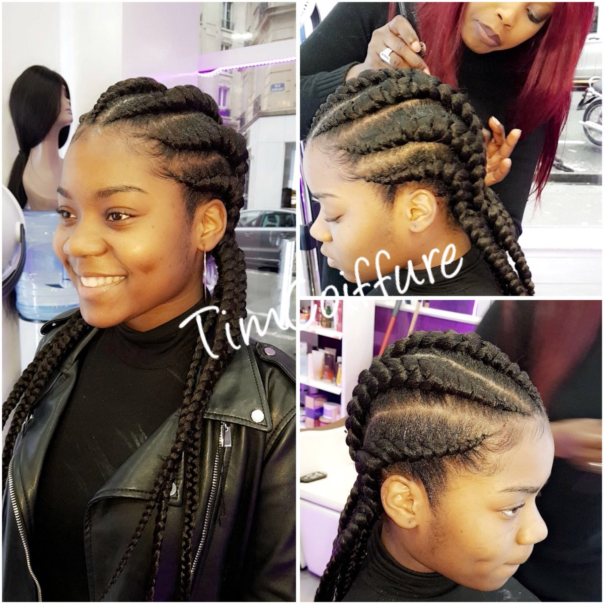 Tim Coiffure On Twitter Belle Coiffure Afro Américaine C