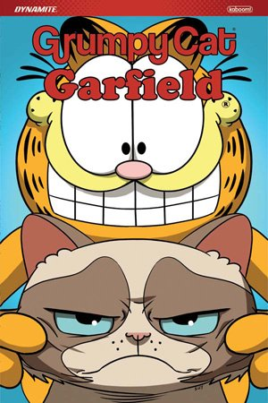 Your fave felines are finally here! Get your claws into @RealGrumpyCat/@Garfield graphic novel, the puurfect pairing-available now! @bnbuzz: bit.ly/2nmsJBH   @booksamillion: bit.ly/2DIZCyw  @amazon: amzn.to/2Fu04Bf