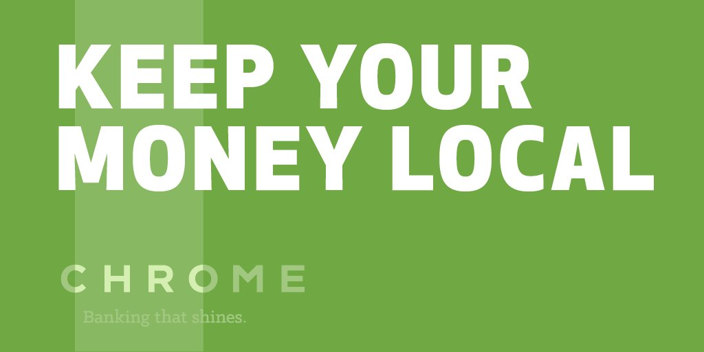 Chrome Fcu On Twitter Keep Your Money Local Experts Suggest
