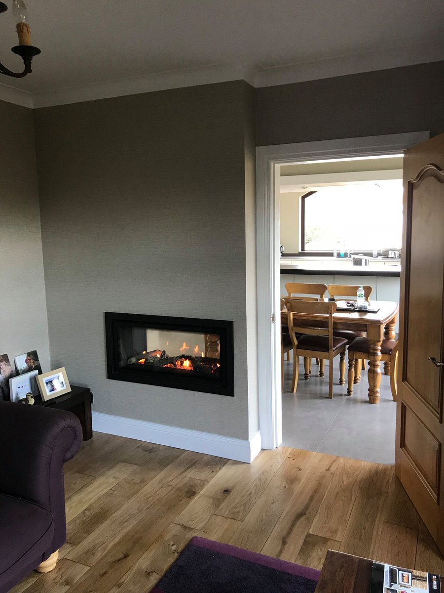 Dp Fireplaces On Twitter One Gas Fire Two Rooms Studio Duplex Gas Fire Beautiful Contemporary Finish To Any Home Stovaxgazco
