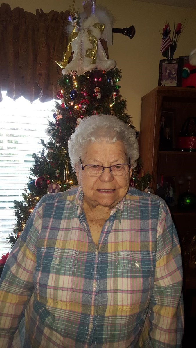 Happy 89th Birthday Mae C! It is our ple...