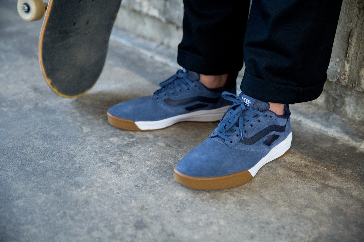 5e2ccde0f1 The UltraRange pro is now available in a host of new colors including the  awesome Vintage Indigo Gum White. Check out the full range at http   vans.eu skate  ...