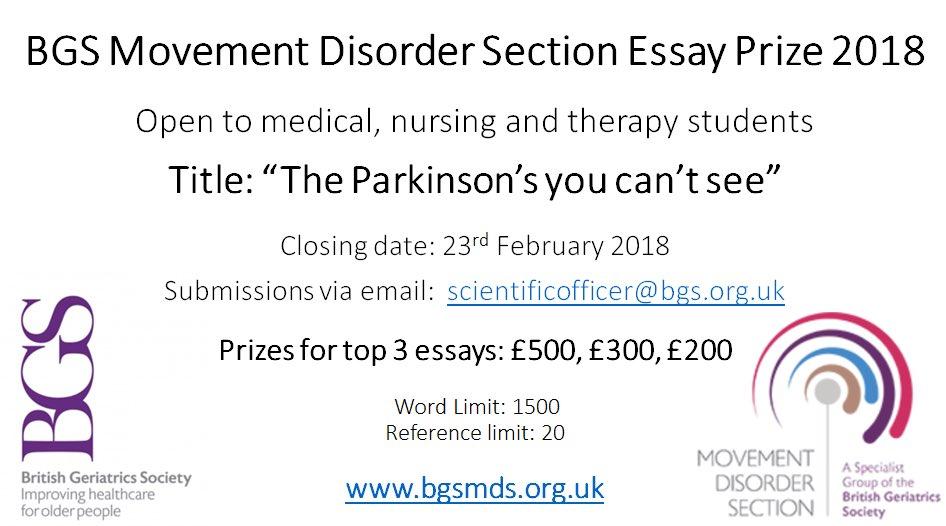 uk medical student essay prizes