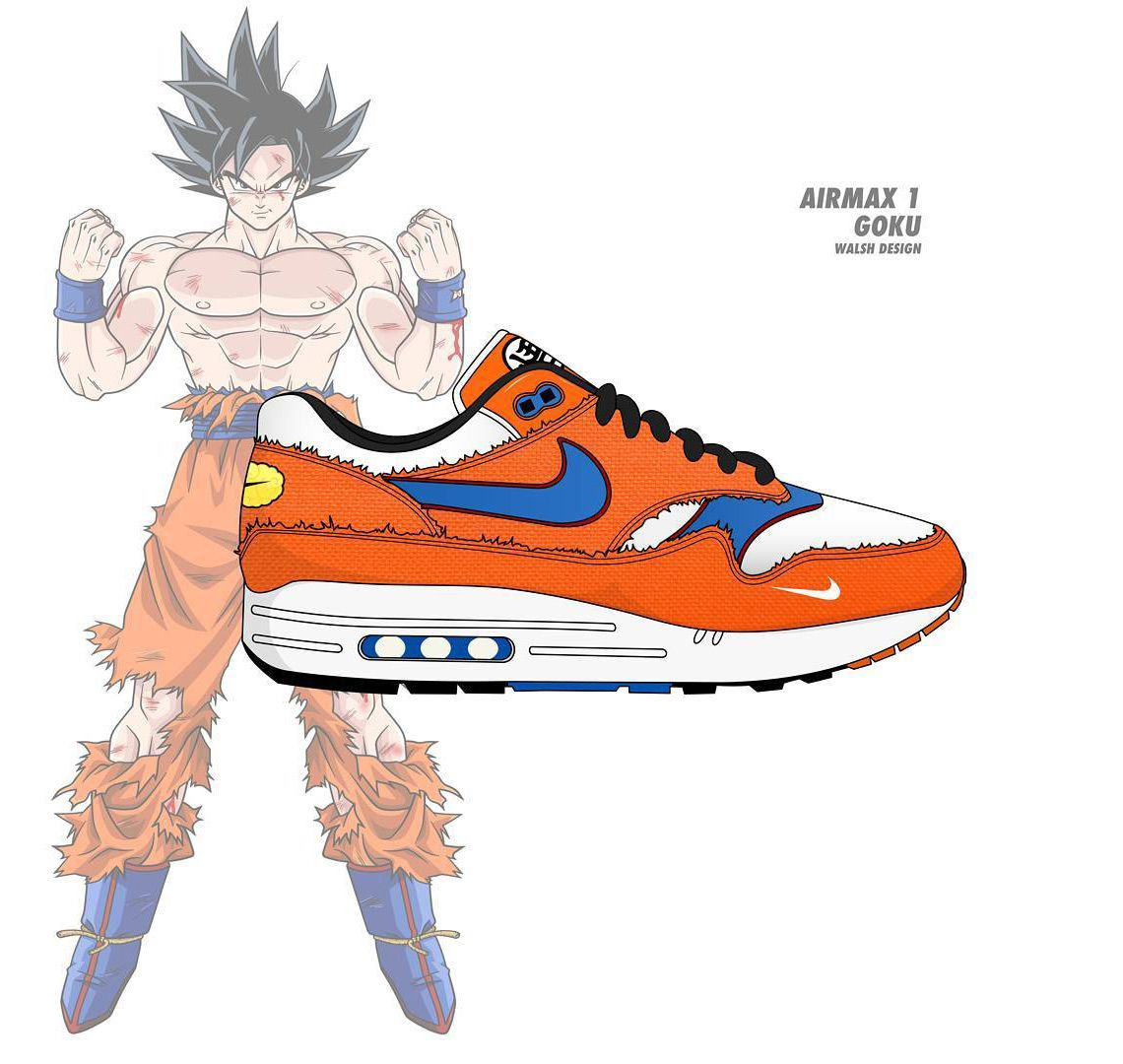 33776d47c This is what a NIKE x Dragonball Z collaboration would look like...  http   snkrne.ws 2EjNi8Y pic.twitter.com QBYTZZFwrs