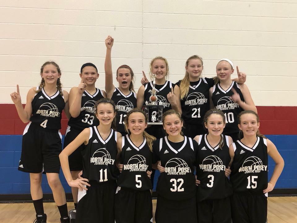 7th grade Lady Vikings are the 2018 Sout...