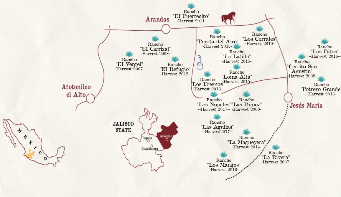 OCHO Tequila on Twitter Ocho tequila treasure map