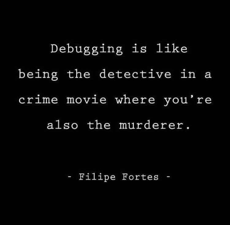 What is debugging