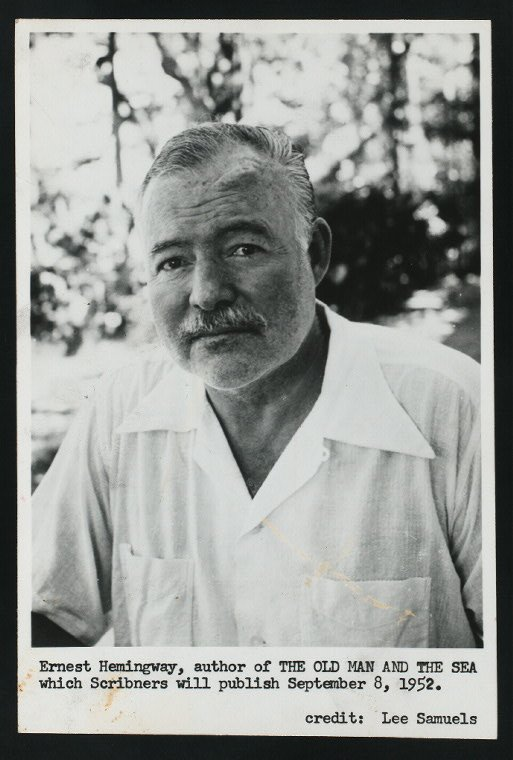 the life of author ernest hemingway essay The tools you need to write a quality essay or to discuss the major themes of ernest hemingway's between ernest hemingway's life and his.