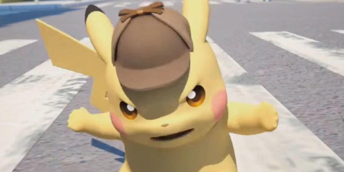 Digital Spy On Twitter Live Action Pokemon Movie Detective Pikachu Reveals Bizarre First Look Images Tco NsEd4wzsg1