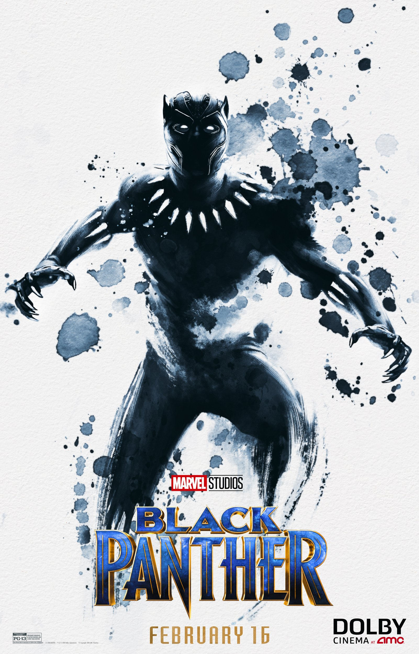 Black Panther Dolby Cinemas poster