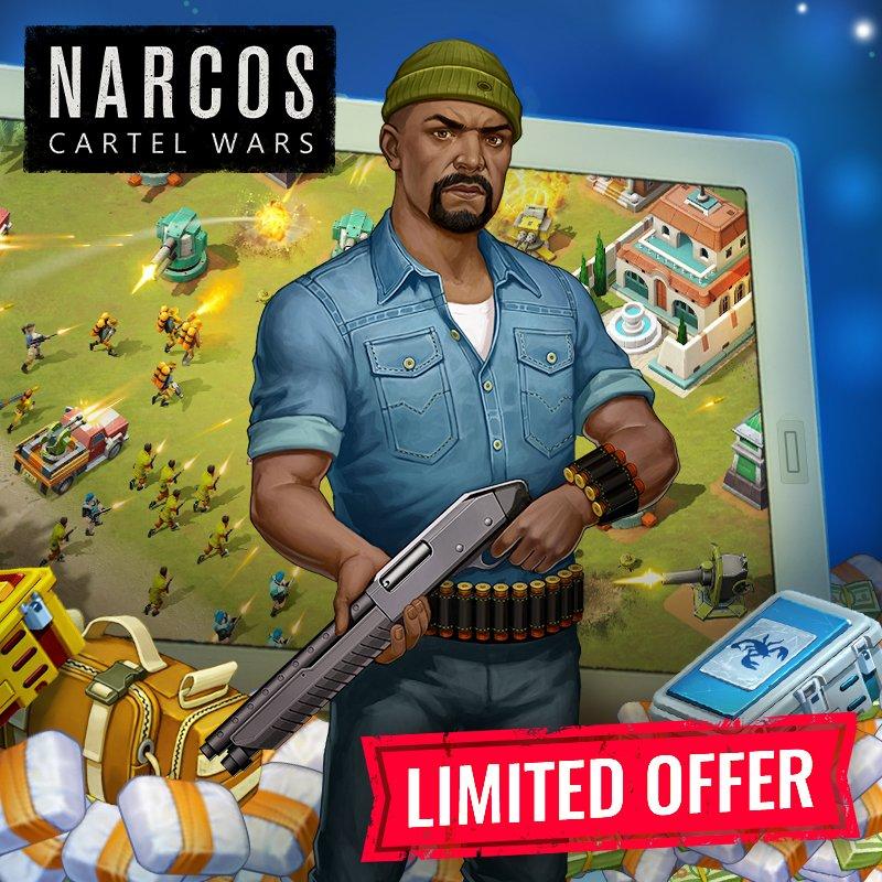 narcos game fincas health cartel bonus