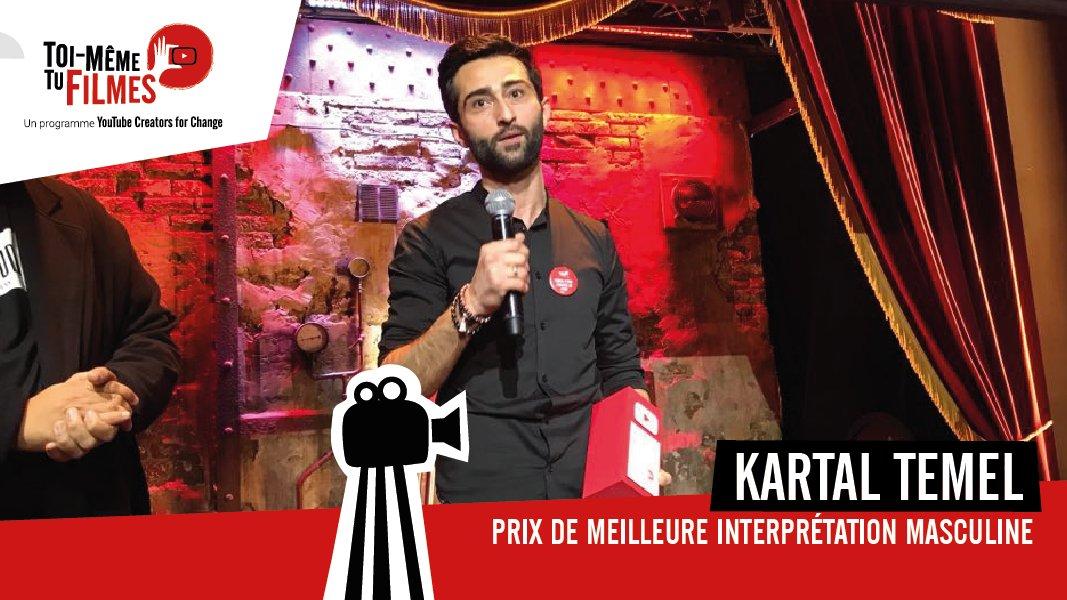 😁 Au tour de @MaximeMusqua, de nous partager le nom du gagnant de l'interprétation masculine #TMTF 🤜🏼 🤛🏽