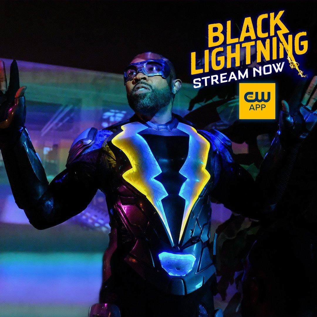 Black Lightning on Twitter: