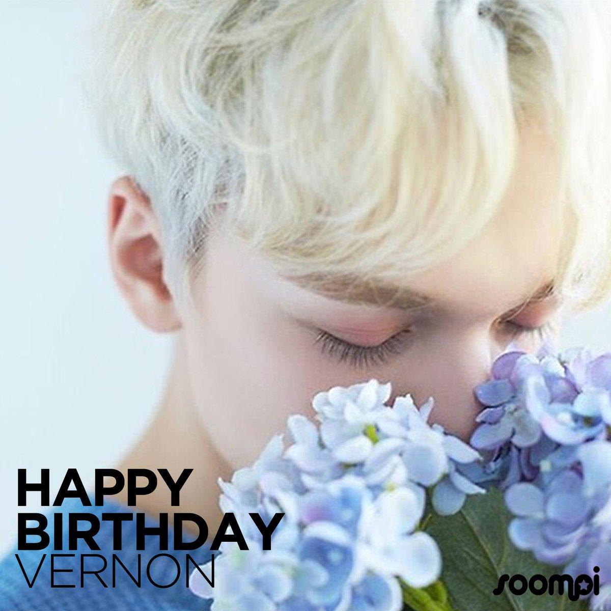 Happy Birthday to #SEVENTEEN's Vernon! #...