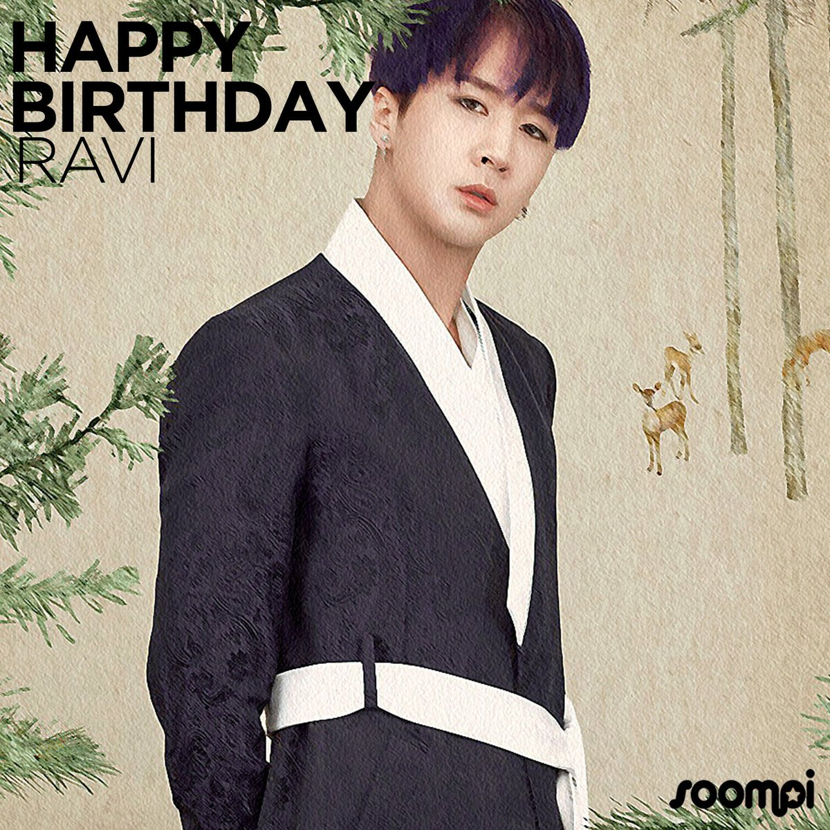 Happy Birthday to #VIXX's Ravi! #HappyRa...