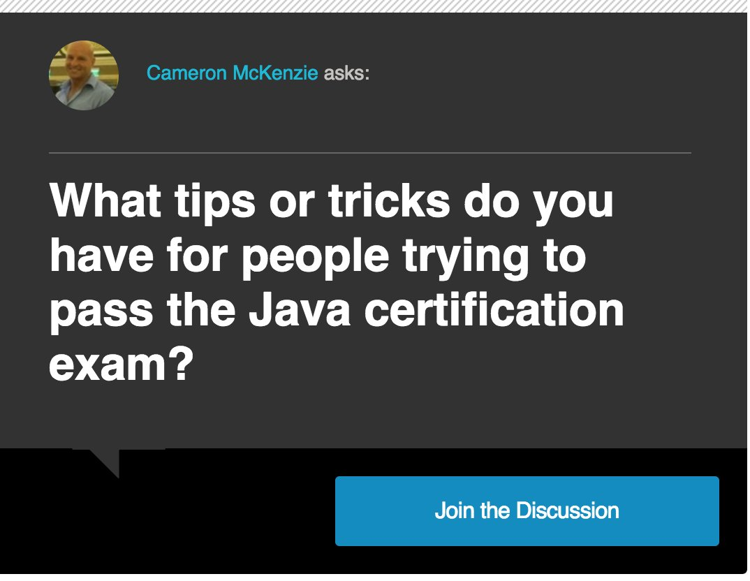 Java on twitter how to add java certified developer to your 505 am 30 jan 2018 1betcityfo Image collections