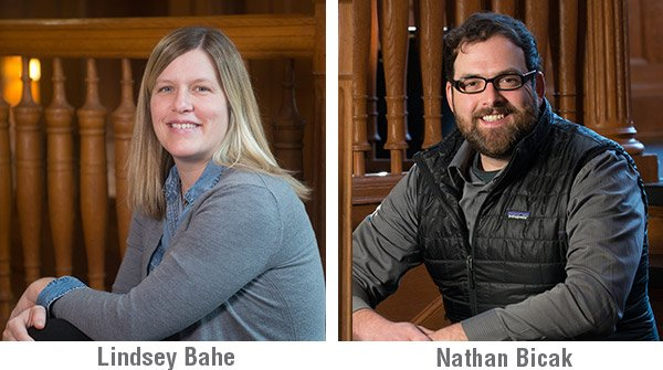 ... UNL INTERIOR DESIGN FACULTY MEMBERS The First Place Winner Was Lindsey  Bahe And An Honorable Mention Was Given To Nathan Bicak.