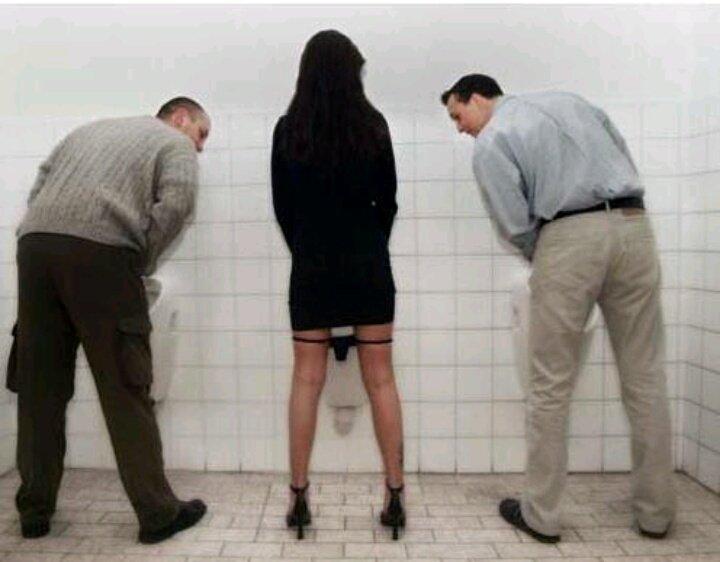 фото бабы в мужском туалете мужики для вас