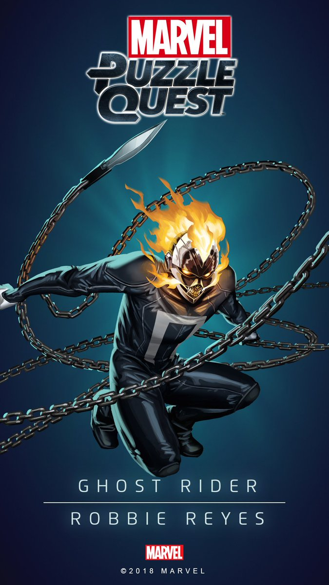 "marvel puzzle quest on twitter: ""these new ghost rider wallpapers"