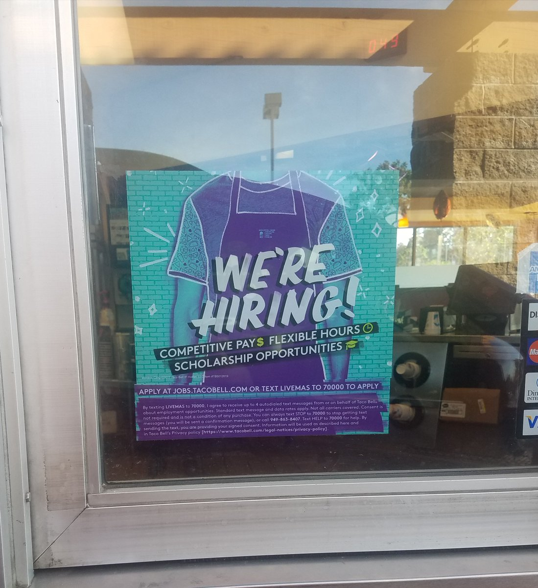 diamond ranch h s on twitter taco bell in diamond bar is hiring