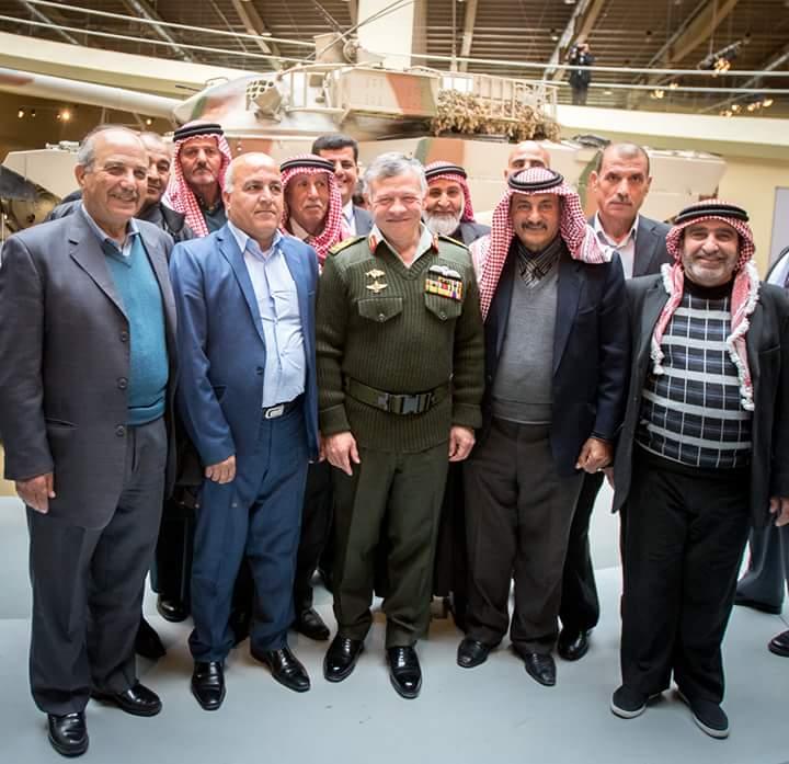ملك الاردن يفتتح متحف الدبابات الملكي في عمان DUvuZ5aVQAAUKrf