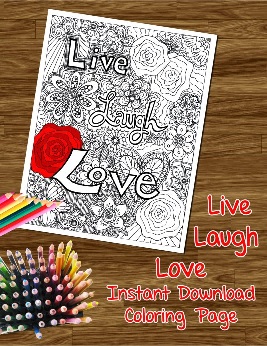 Trending On My Blog Today Free Coloring Pages Buffly 2Ek1EWU Livelaughlove Freecoloring Coloringbook Colouring Adultcoloring Zenart