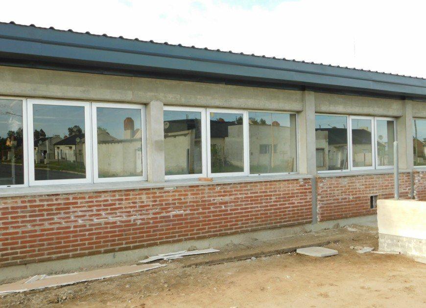 General Pico | Avanzan las obras de dos edificios educativos