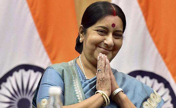 किन आउँदैछिन् भारतीय विदेश मन्त्री सुस्मा स्वराज ?