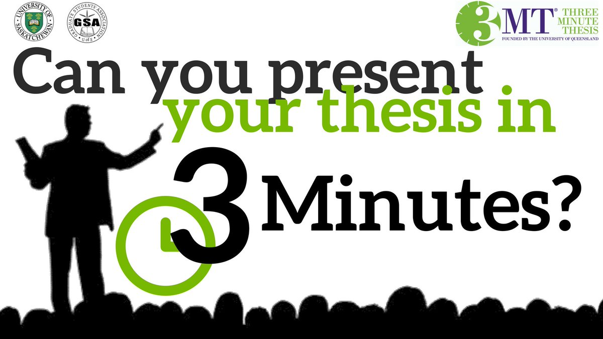 3 minute thesis usask