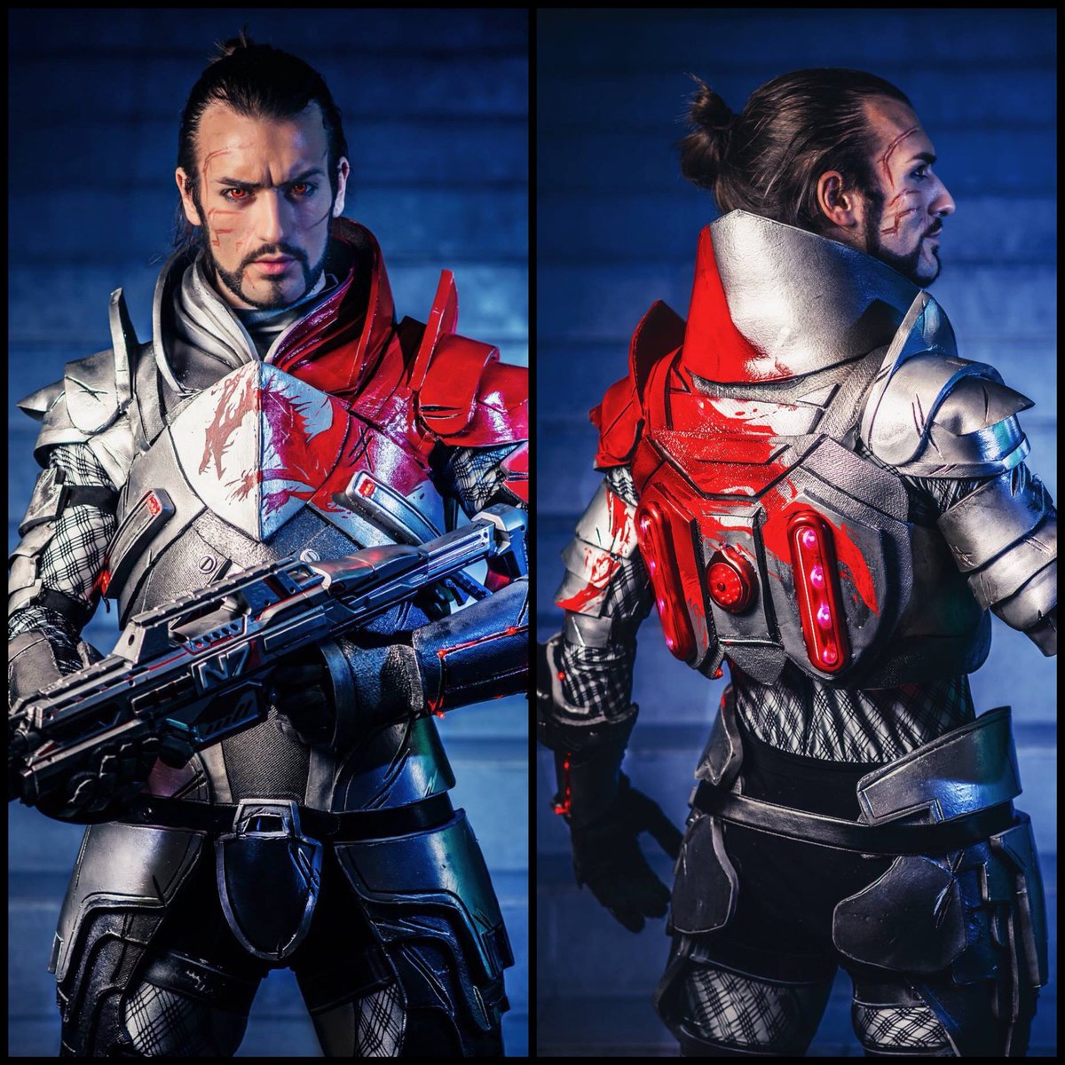 Leon Chiro On Twitter Throwback To 2015 When I Made My Blood Dragon Armor From Mass Effect 3 In 25 Days Of Work I Thought Many Of You Never Saw Lots Of The blood dragon armor in mass effect 2. leon chiro on twitter throwback to