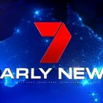 Image for the Tweet beginning: 7 News on @Channel7 now.