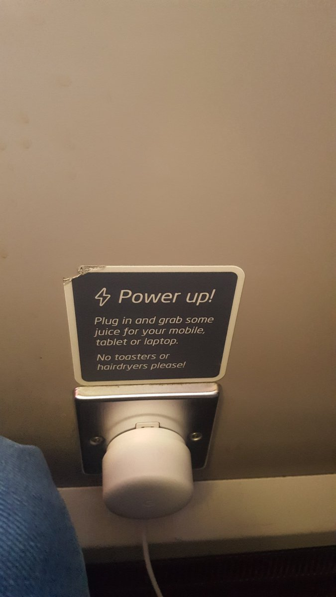 @VirginTrains are u serious about that we cant use bladdy toaster on your trains