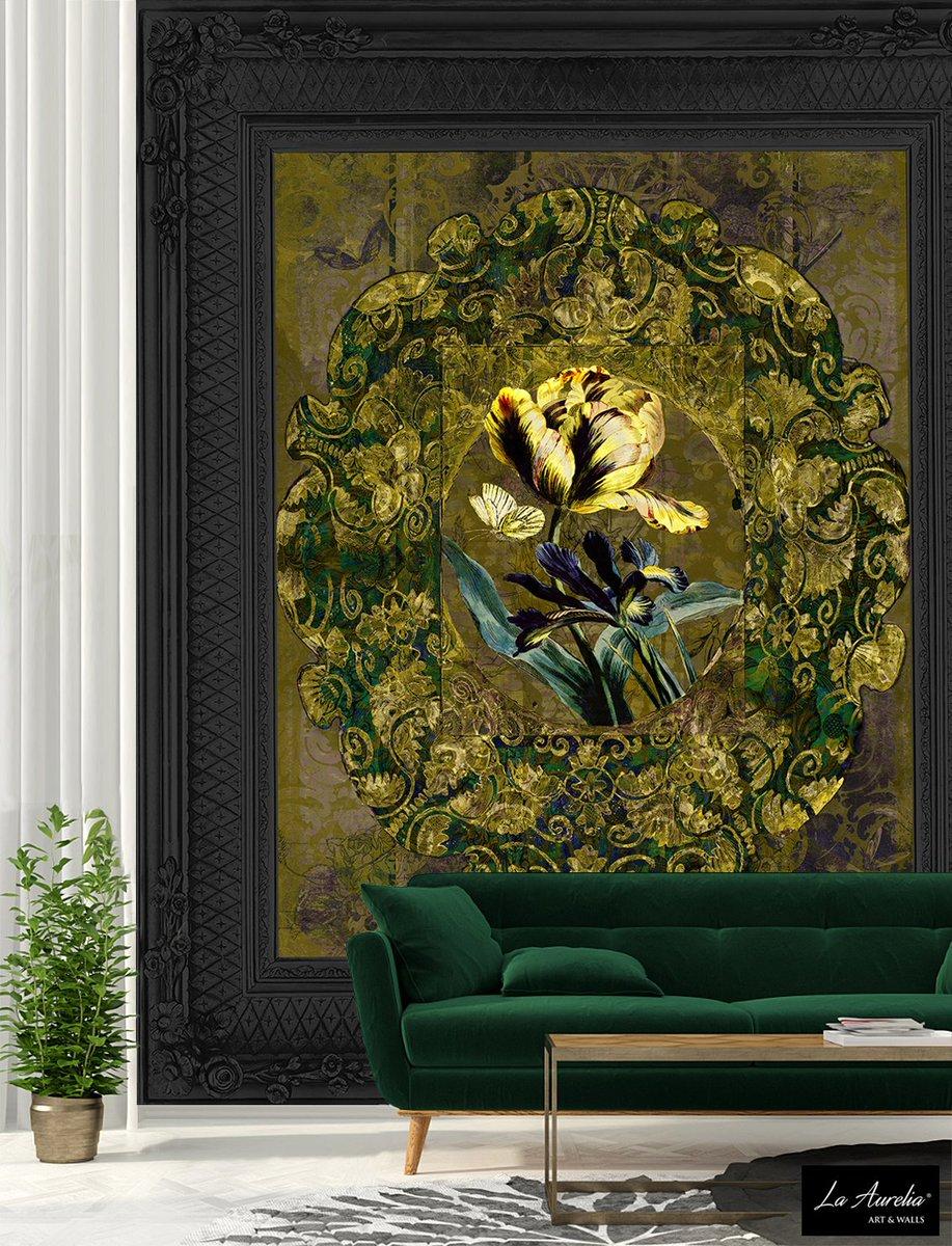 Jardin&#39; leads you into an oasis of tranquillity and fascination for a splendid, intimate garden  http:// ow.ly/TE6d308063z  &nbsp;    #wallpaper #wallart #yellow #floral #cartadaparati  #papierpeint #wallpaper #tapete #papelpintado #wallcovering #design #LaAurelia #interiordesign  #interio<br>http://pic.twitter.com/tUoUkDybIQ