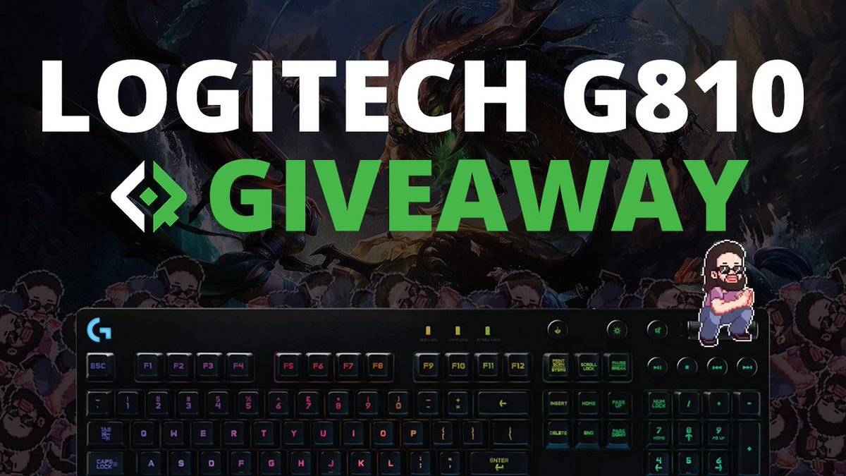 Overwolf On Twitter Check Out This Logitechg 810 Keyboard