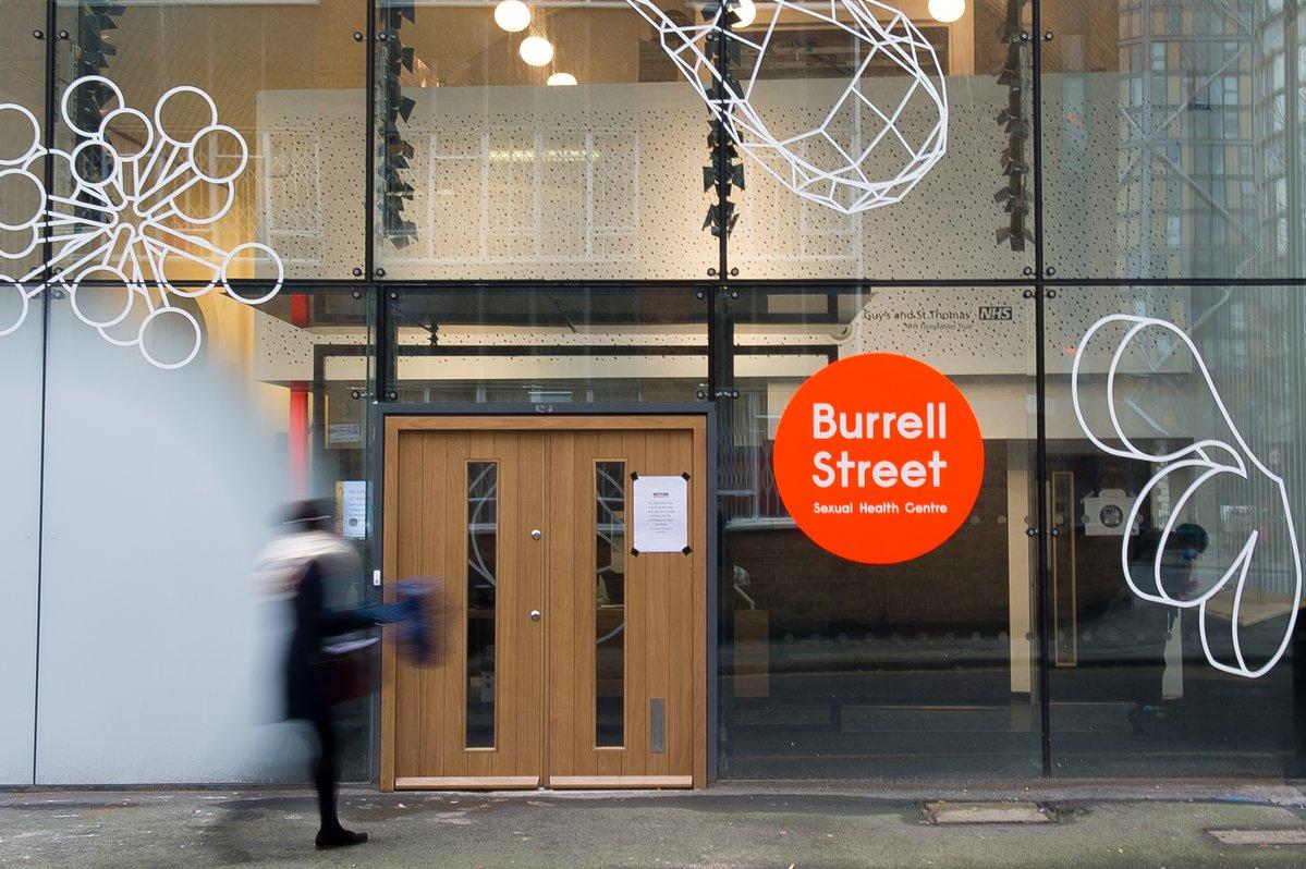 Burrell street sexual health clinic address