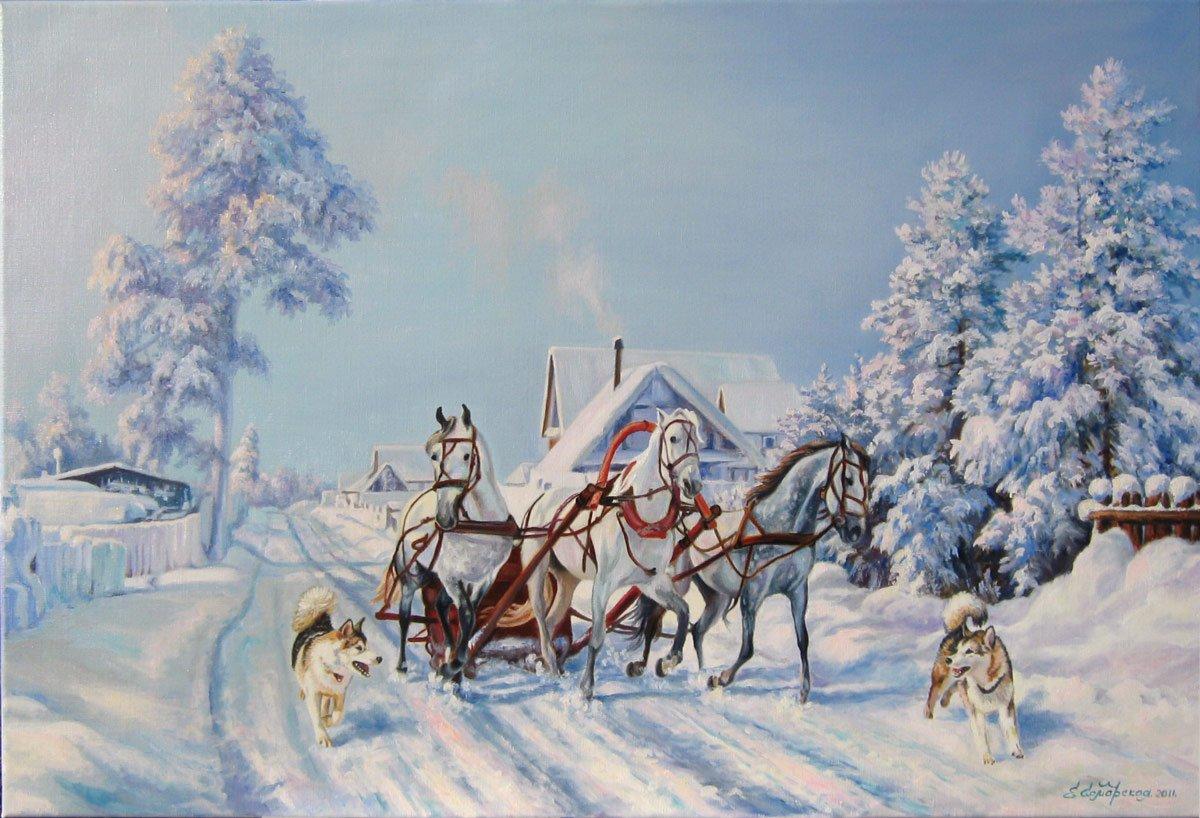 Лет свадьбы, тройка лошадей картинки для детей