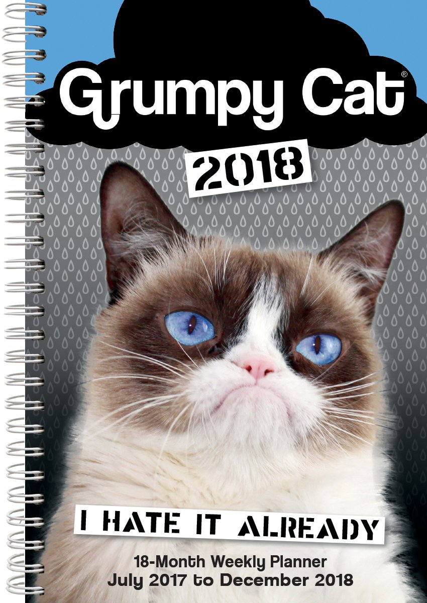 2018 Grumpy Cat Desk Pad or Planner NOW 30% OFF w Coupon Code CAL30 at rsvp.com Content © & ® 2017 Grumpy Cat Limited. All Rights Reserved. See Grumpy Cat all year! #GrumpyCat @grumpycat #cats #2018Calendars #2018Planners @RealGrumpyCat #couponcodes @grumpycat02