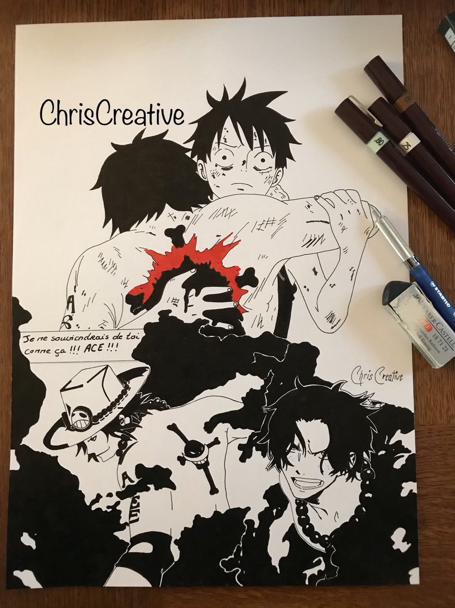 Clmagencyhani Chriscreative On Twitter One Piece Ace Ace Is Dead