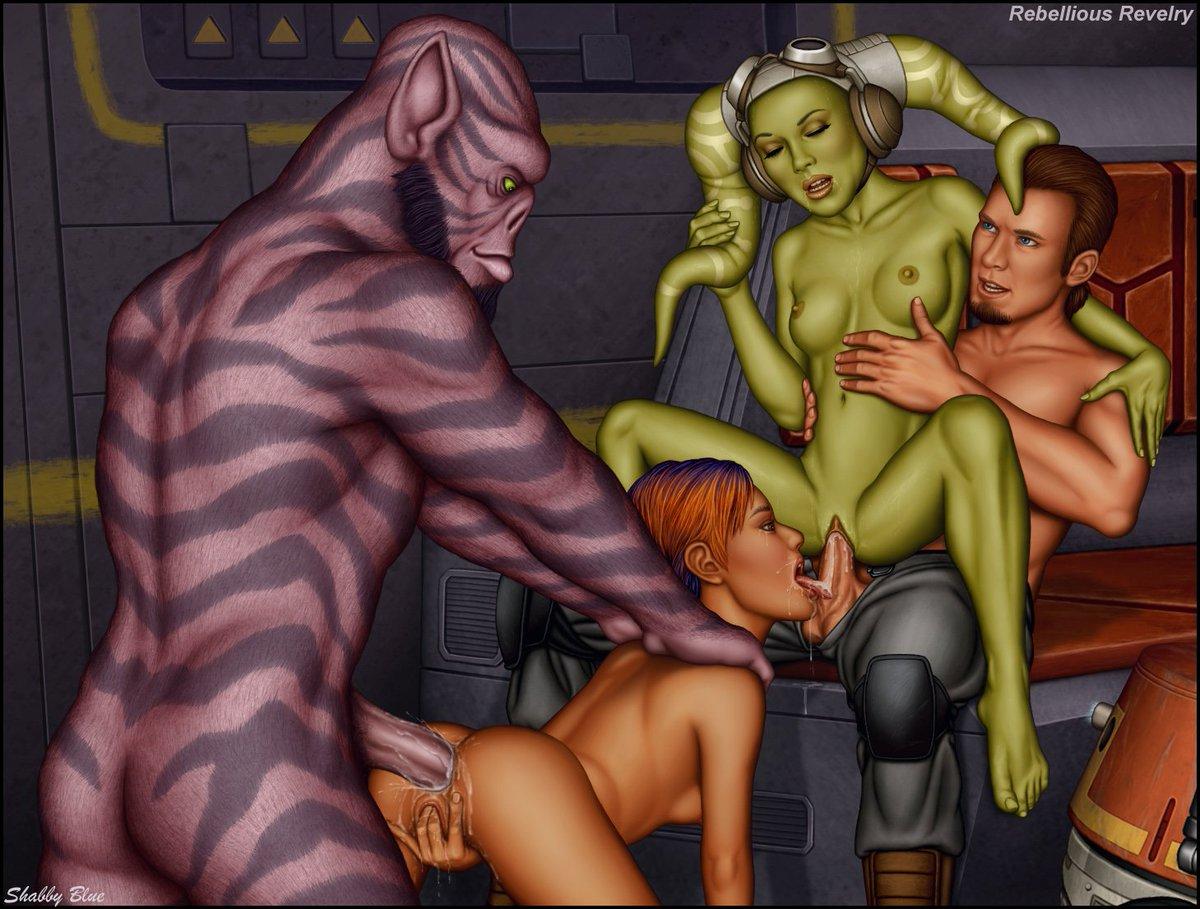 Звёзные воиные порно