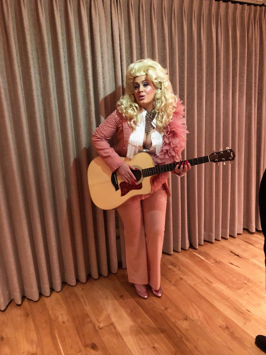 The effortless queen of song, Dolly Parton! We love you! We wish We could possess an ounce of your ability. You were the hero of our night! A hero of my life. I'll always love you x
