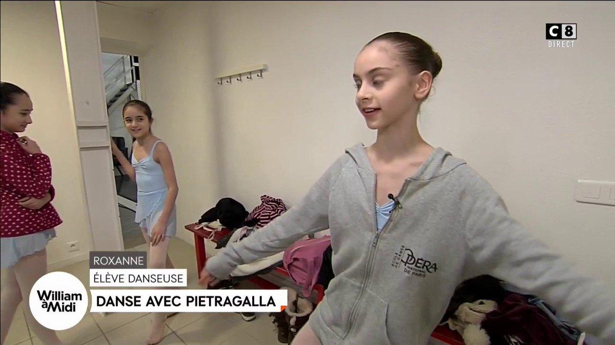 .@caroithurbide  belle initiative de la #star de la danse classique #PIETGRALLA #enfants #WAM