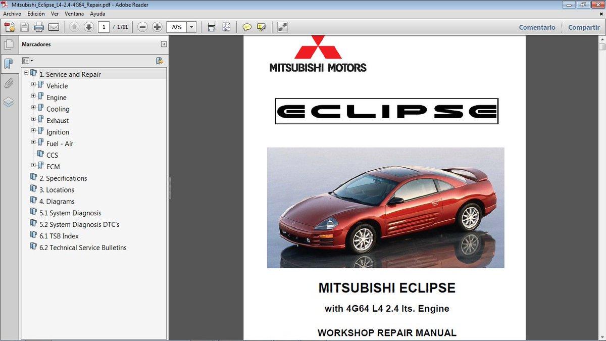 Mitsubishi Eclipse 3 0 Engine Diagram
