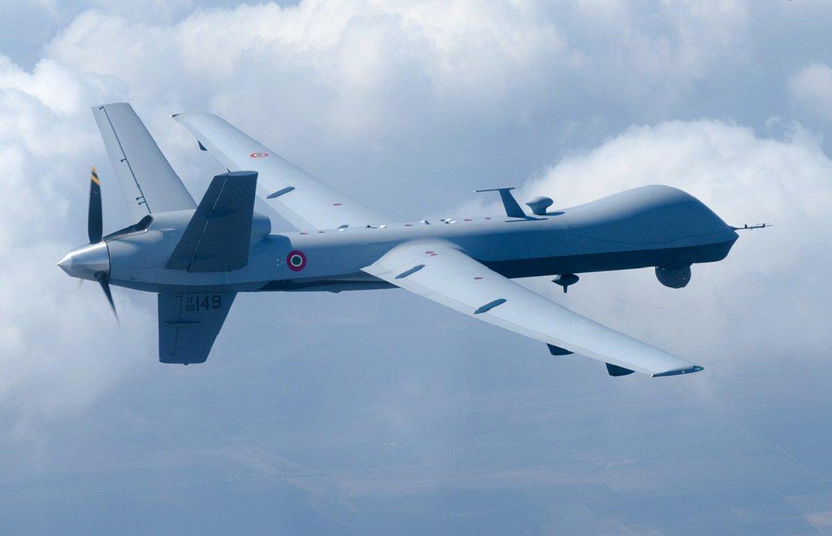 """Aeronautica Militare on Twitter: """"Il velivolo MQ-9 """"Predator B ..."""
