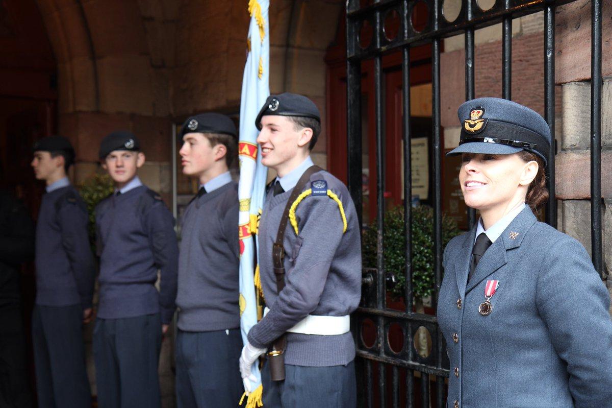 a privilege to provide a guard