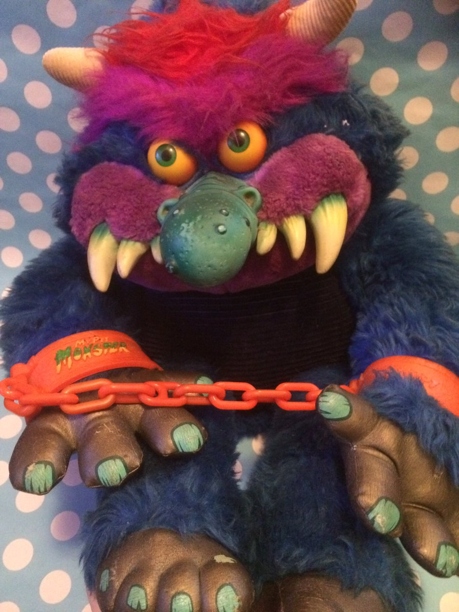 80sthen80snow On Twitter 80s Toy Of The Day My Pet Monster