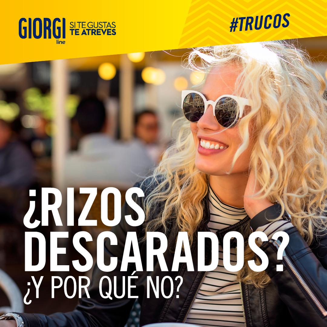Aplica Giorgi Rizos Descarados con suaves palmadas sobre tus rizos y usa laca para mantenerlos impecables, ¡te quedarán unos rizos perfectos! #TrucoYRizo7 https://t.co/mTCXR6oakQ