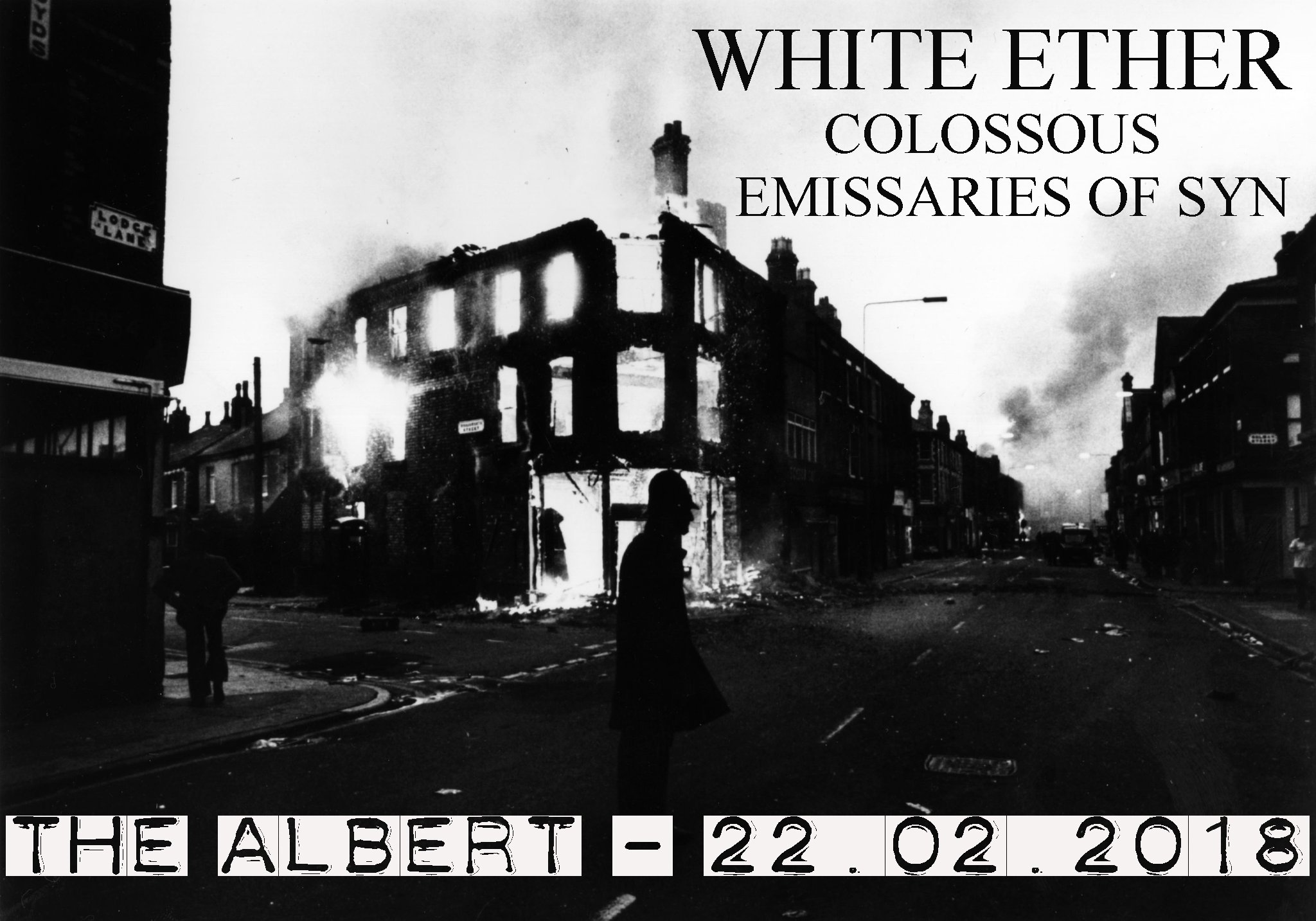White Ether, Colossous, Emissaries Of Syn @ The Albert, Caernarfon
