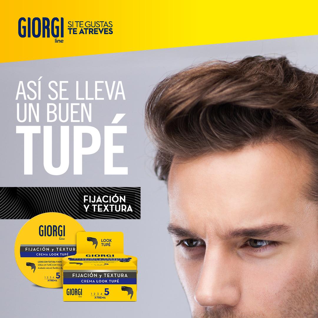 Que el tupé es el look estrella de los peinados masculinos no es ningún secreto, conseguirlo ya es otro tema. ¡Ayúdate de la Crema Look Tupé para tener éxito! https://t.co/KbMmJGYOrx