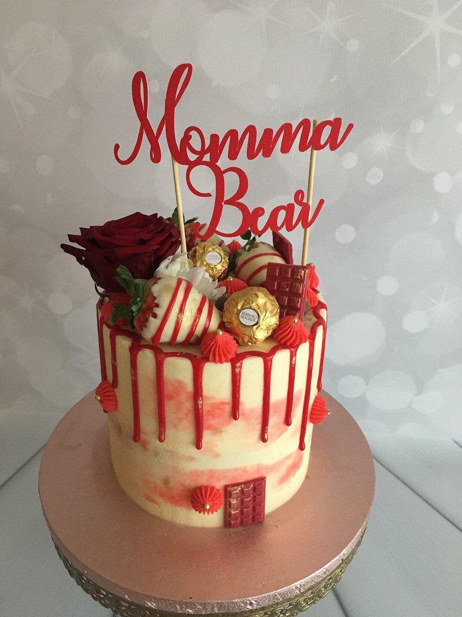Awe Inspiring Velvet Rose Bakery A Twitter Red Drip Cake In A Red Velvet Funny Birthday Cards Online Necthendildamsfinfo